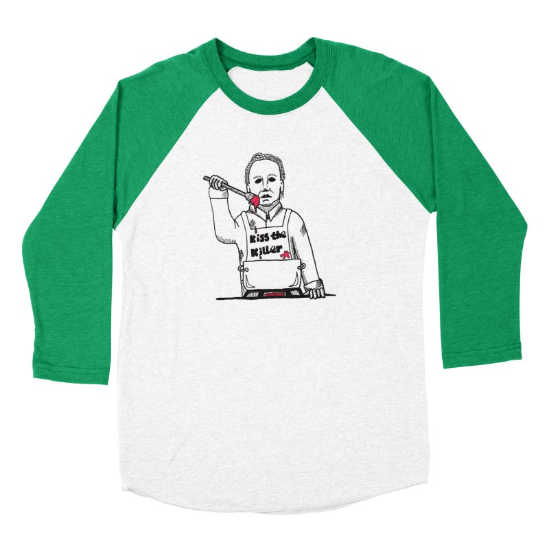 Killers In The Kitchen Michael Men's Longsleeve T-Shirt by Raven Mad Design's Artist Shop