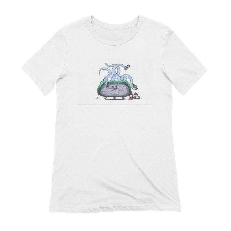 Drunken Tentacles Women's T-Shirt by Raven Mad Design's Artist Shop