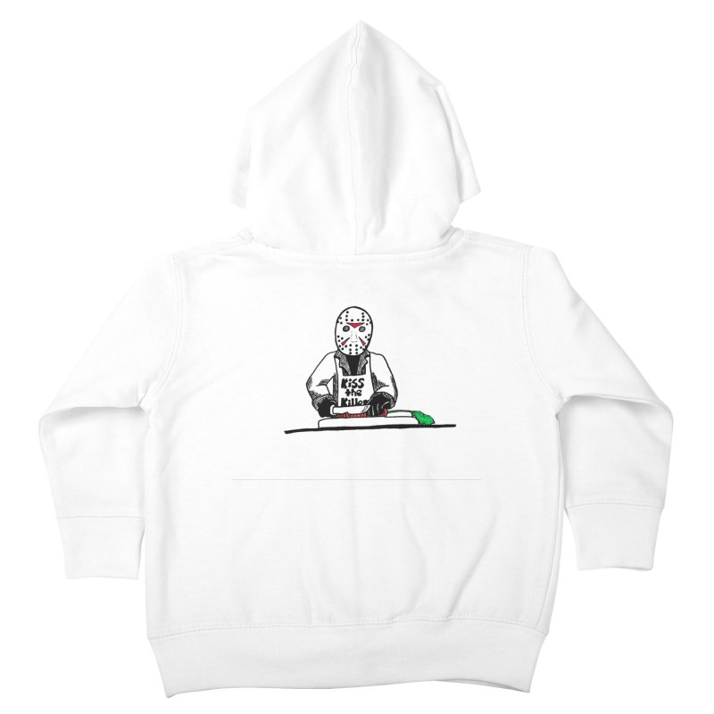 Killers In The Kitchen Jason Kids Toddler Zip-Up Hoody by Raven Mad Design's Artist Shop