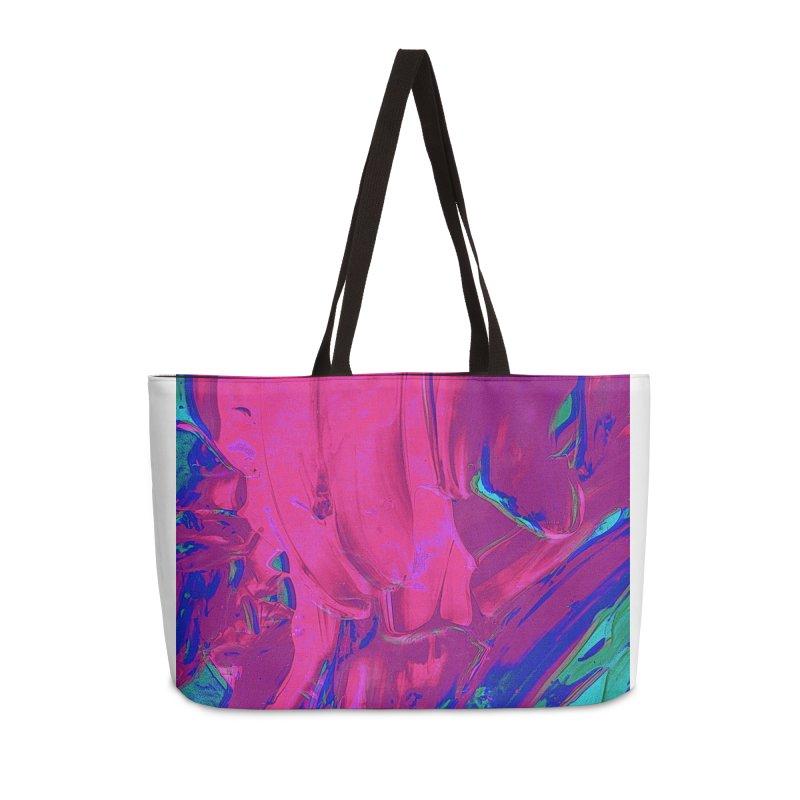 3D Glasses Accessories Weekender Bag Bag by RavencroftGraphics3D's Artist Shop