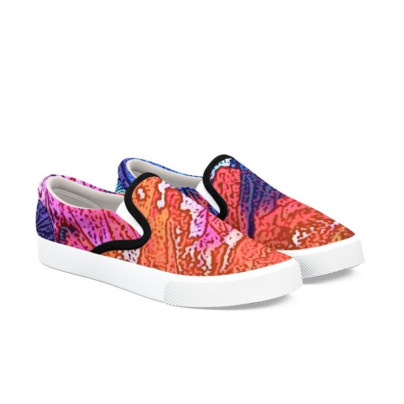 The War of Helios Men's Slip-On Shoes by RavencroftGraphics3D's Artist Shop
