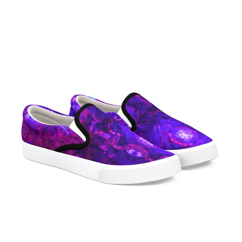 Hall of Witnesses Men's Slip-On Shoes by RavencroftGraphics3D's Artist Shop