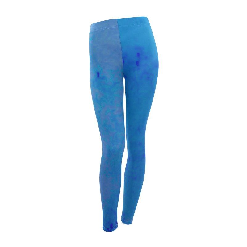 The Deep Blue Women's Leggings Bottoms by RavencroftGraphics3D's Artist Shop
