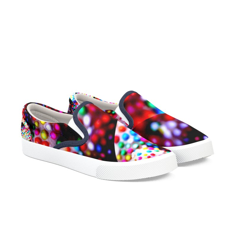 Shattered Reflections Men's Slip-On Shoes by RavencroftGraphics3D's Artist Shop