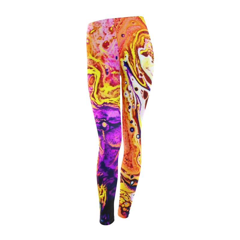 Lava Lamp Women's Leggings Bottoms by RavencroftGraphics3D's Artist Shop