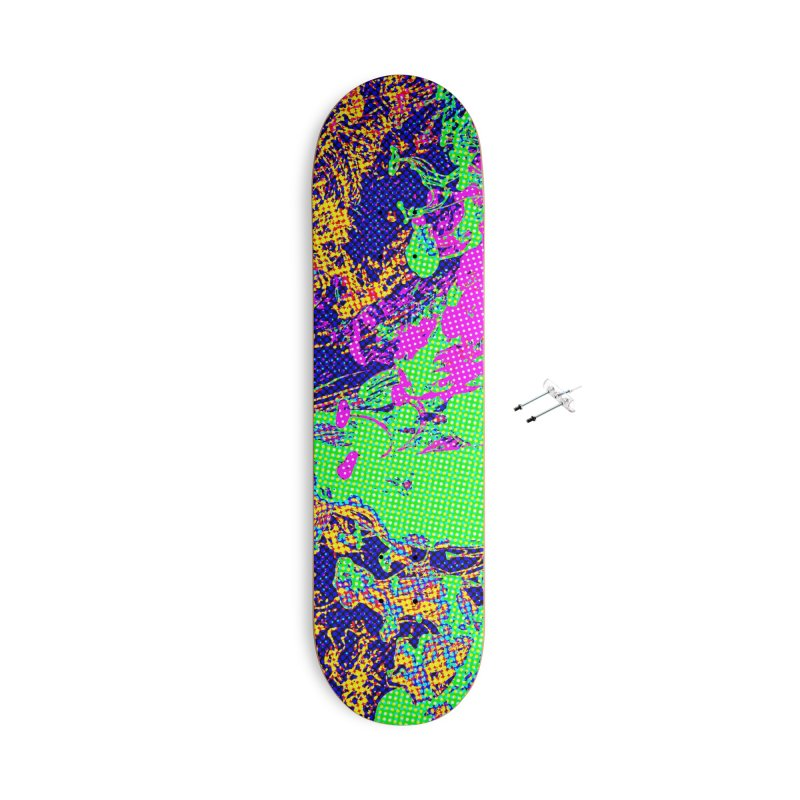 Spring Candy Accessories With Hanging Hardware Skateboard by RavencroftGraphics3D's Artist Shop