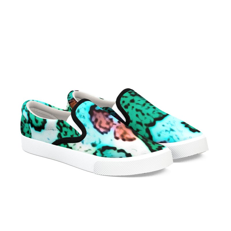 Spring Mountains Men's Slip-On Shoes by RavencroftGraphics3D's Artist Shop