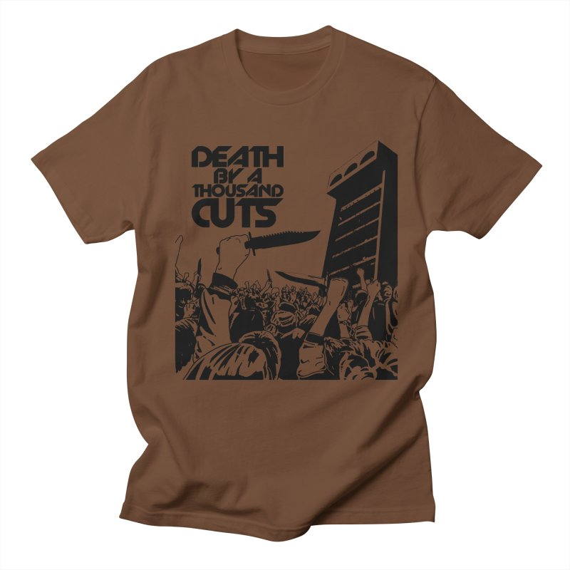 "Death By A Thousand Cuts ""Knives"" T-shirt Men's T-Shirt by RawGravy's Artist Shop"