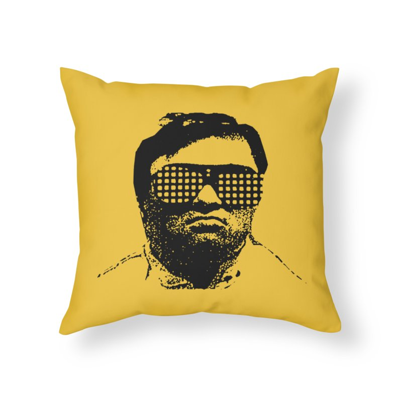 Reynols Throw Pillow Home Throw Pillow by RawGravy's Artist Shop