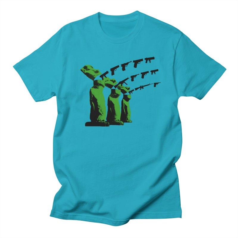 Gun Tiki T-shirt Men's T-Shirt by RawGravy's Artist Shop
