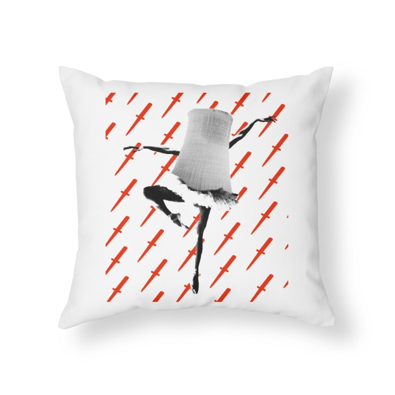 Death Dancer Throw Pillow Home Throw Pillow by RawGravy's Artist Shop
