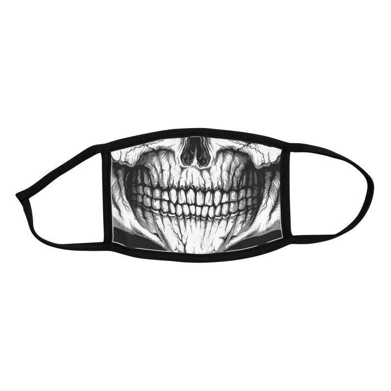 Skull Accessories Face Mask by Rax's Artist Shop