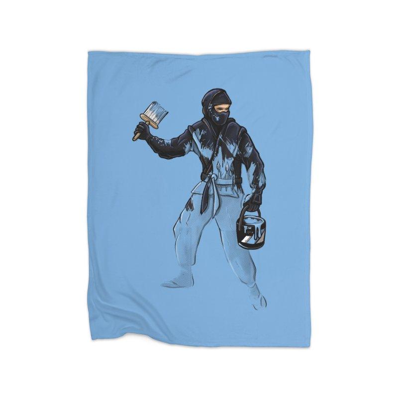 Stealth Ninja Home Blanket by Rax's Artist Shop