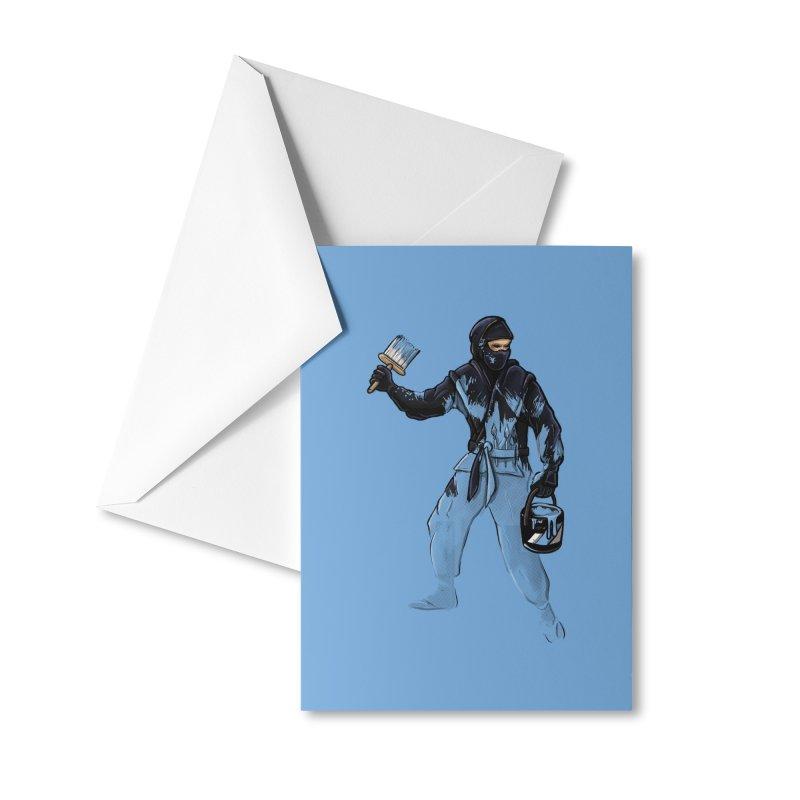 Stealth Ninja Accessories Greeting Card by Rax's Artist Shop