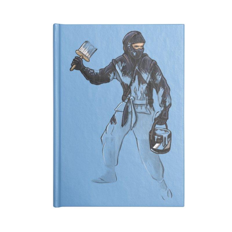 Stealth Ninja Accessories Notebook by Rax's Artist Shop