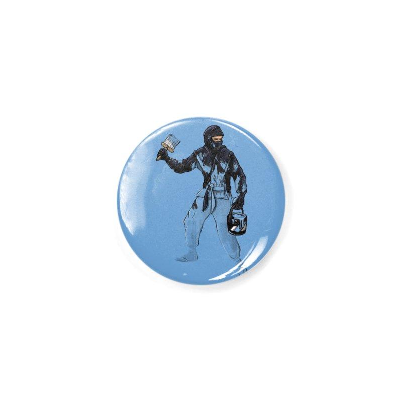 Stealth Ninja Accessories Button by Rax's Artist Shop