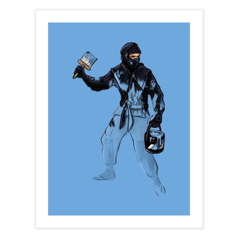 Stealth Ninja Home Fine Art Print by Rax's Artist Shop