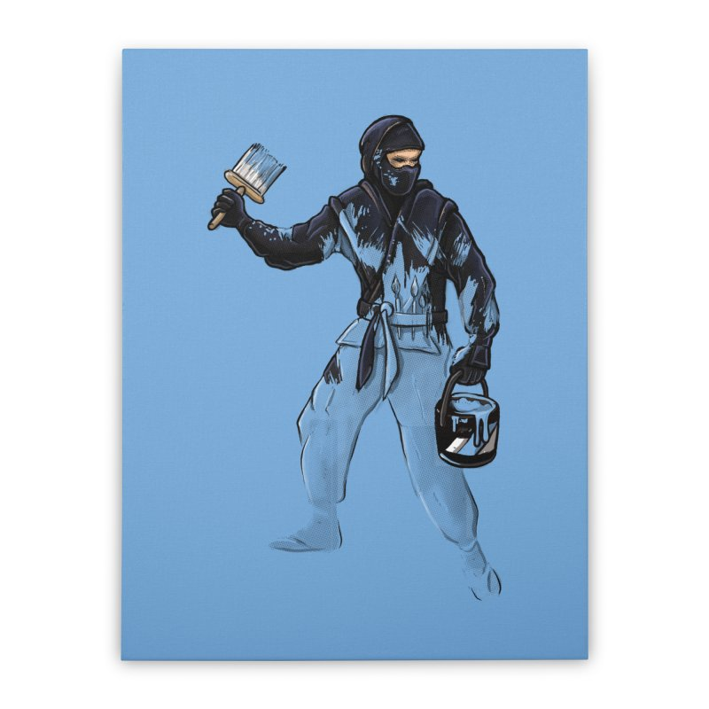 Stealth Ninja Home Stretched Canvas by Rax's Artist Shop