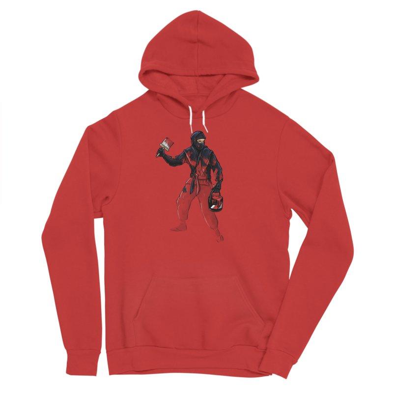 Stealth Ninja Women's Pullover Hoody by Rax's Artist Shop