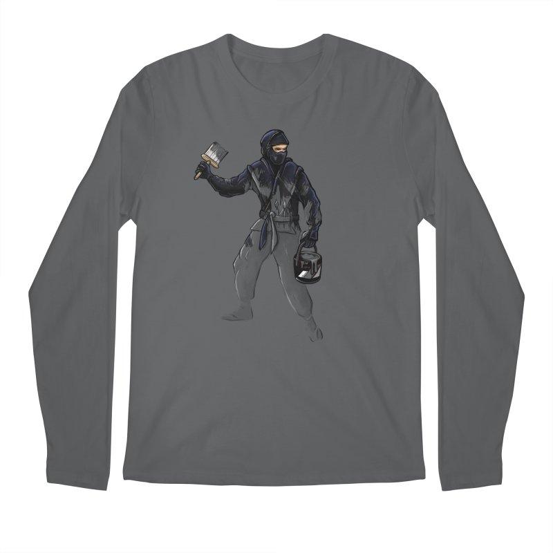Stealth Ninja Men's Longsleeve T-Shirt by Rax's Artist Shop