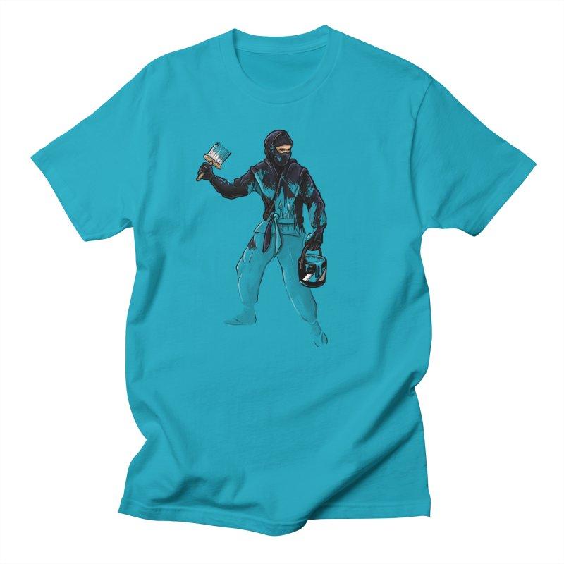 Stealth Ninja Men's T-Shirt by Rax's Artist Shop