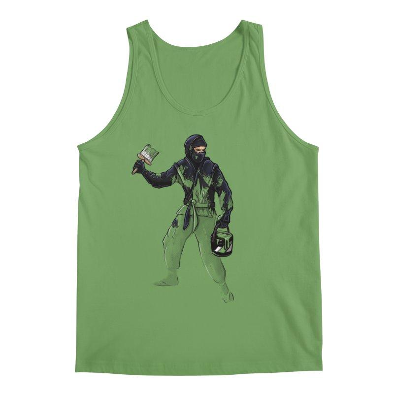 Stealth Ninja Men's Tank by Rax's Artist Shop