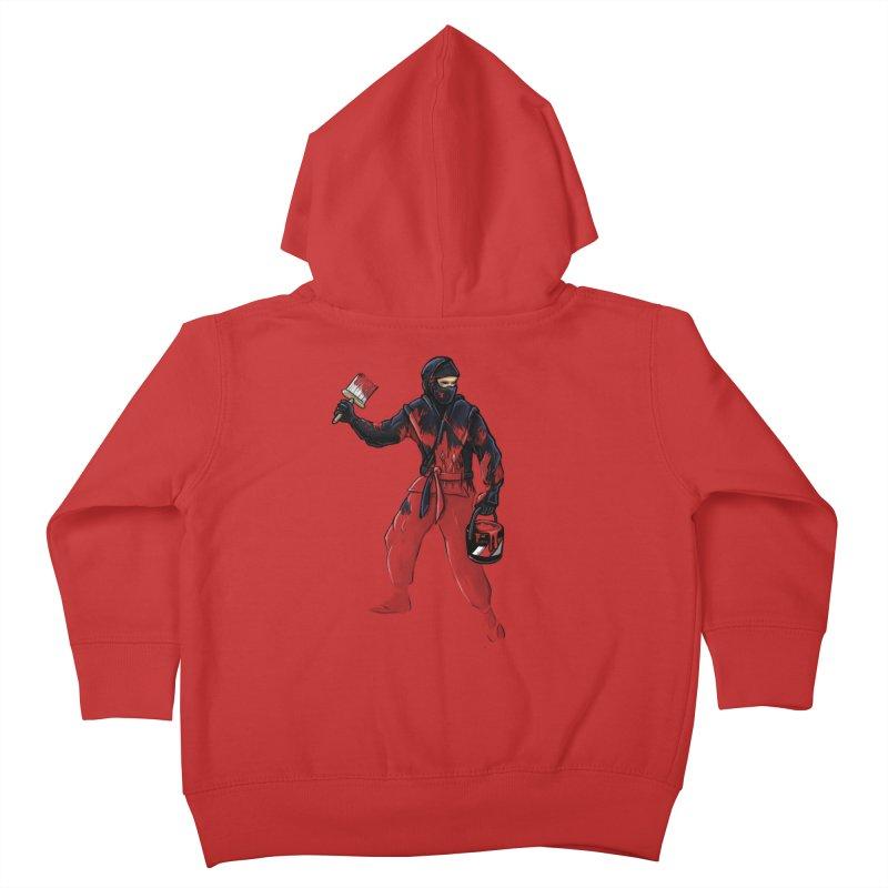 Stealth Ninja Kids Toddler Zip-Up Hoody by Rax's Artist Shop