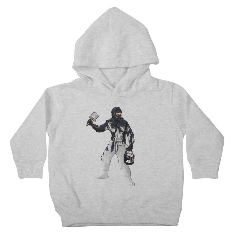 Stealth Ninja Kids Toddler Pullover Hoody by Rax's Artist Shop