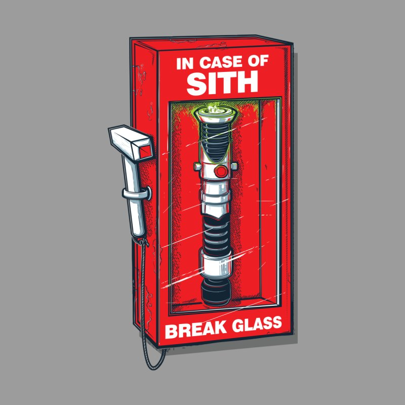 In case of sith... Men's T-Shirt by Rax's Artist Shop