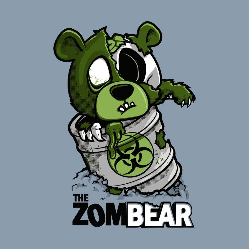 ZomBear Men's T-Shirt by Rax's Artist Shop
