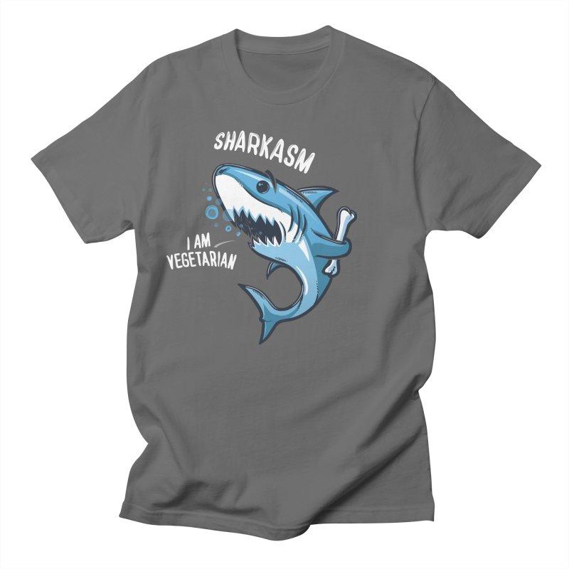 Sharkasm Men's T-Shirt by Rax's Artist Shop