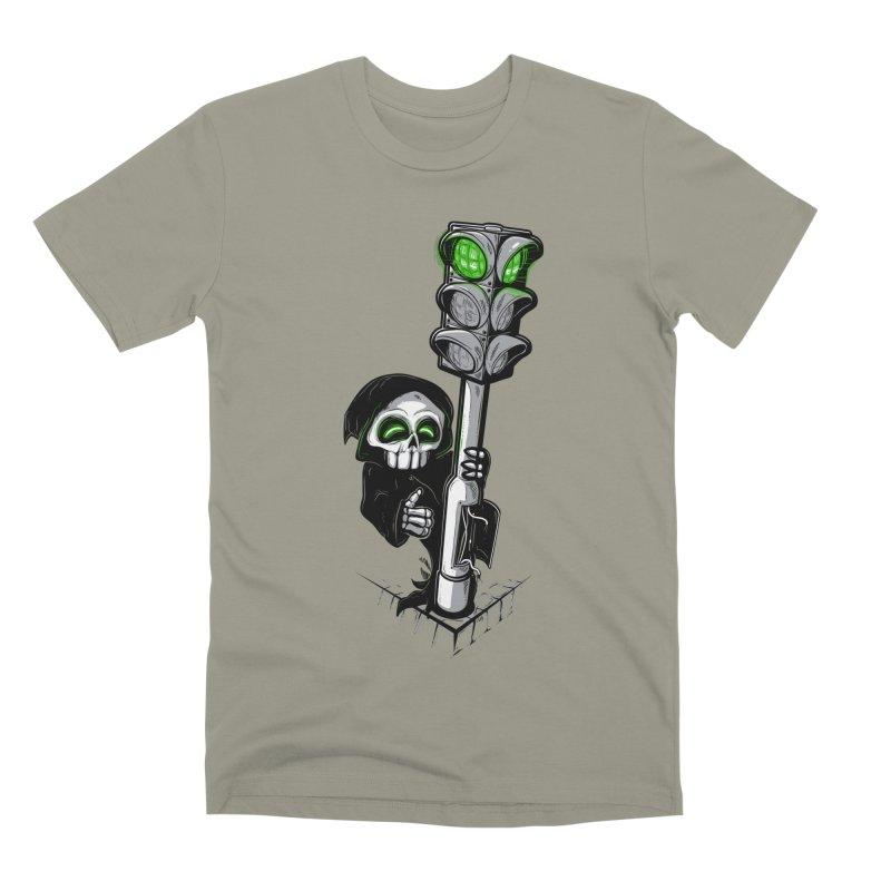 Traffic lights Men's T-Shirt by Rax's Artist Shop
