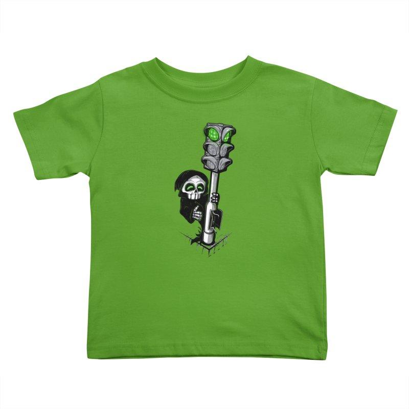 Traffic lights Kids Toddler T-Shirt by Rax's Artist Shop