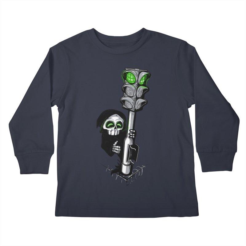 Traffic lights Kids Longsleeve T-Shirt by Rax's Artist Shop