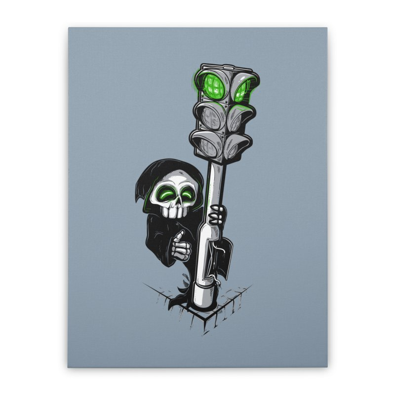 Traffic lights Home Stretched Canvas by Rax's Artist Shop