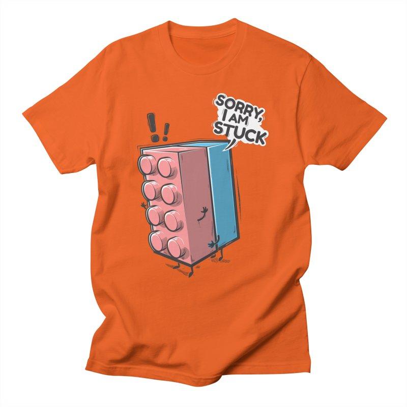 Stuck Men's T-Shirt by Rax's Artist Shop