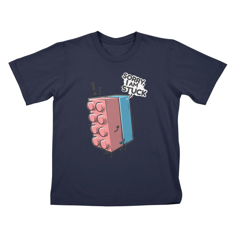 Stuck Kids T-Shirt by Rax's Artist Shop