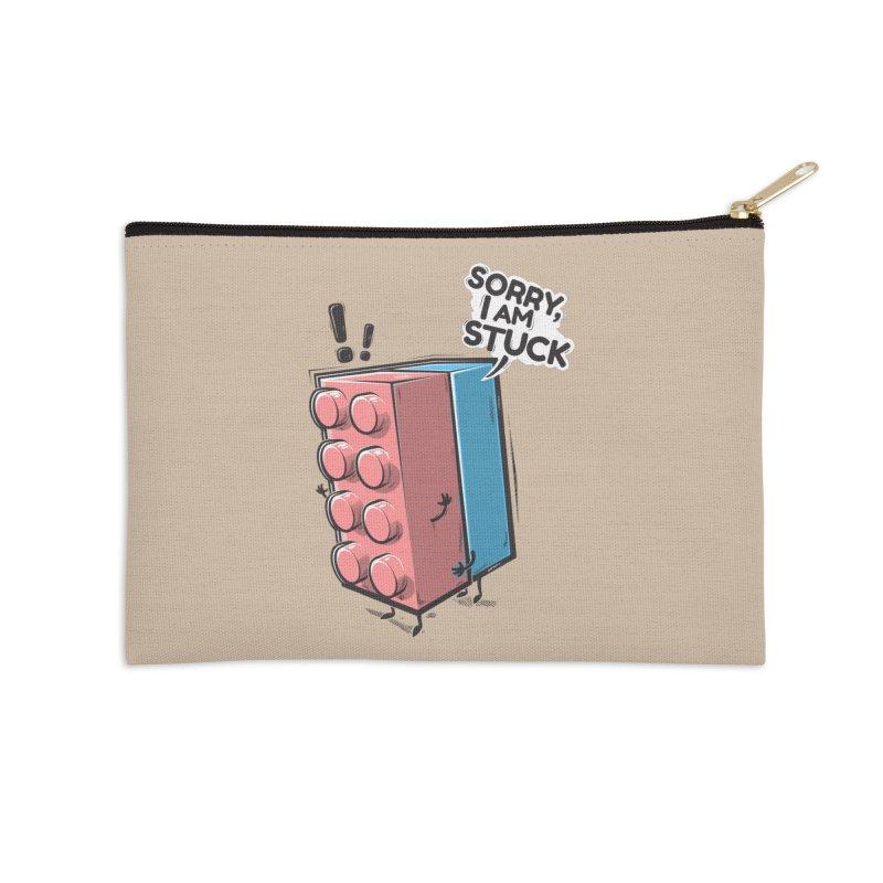 Stuck Accessories Zip Pouch by Rax's Artist Shop