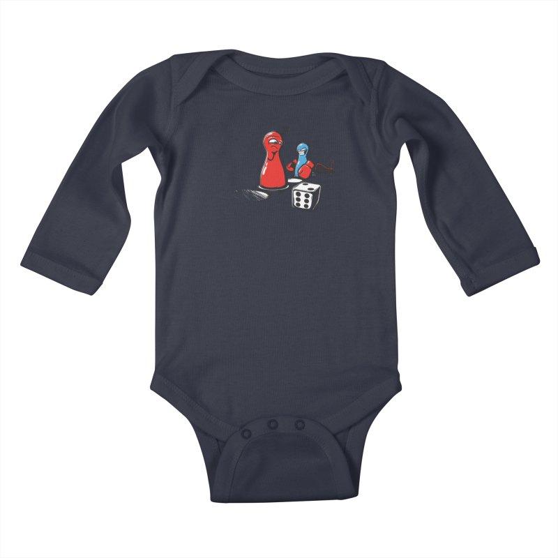 Sorry! Kids Baby Longsleeve Bodysuit by Rax's Artist Shop