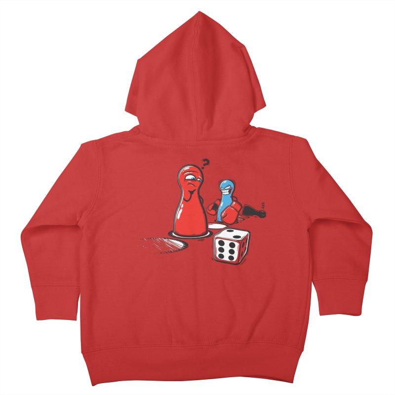 Sorry! Kids Toddler Zip-Up Hoody by Rax's Artist Shop