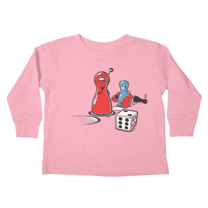 Sorry! Kids Toddler Longsleeve T-Shirt by Rax's Artist Shop
