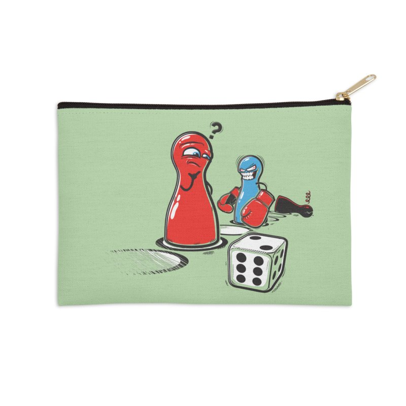 Sorry! Accessories Zip Pouch by Rax's Artist Shop