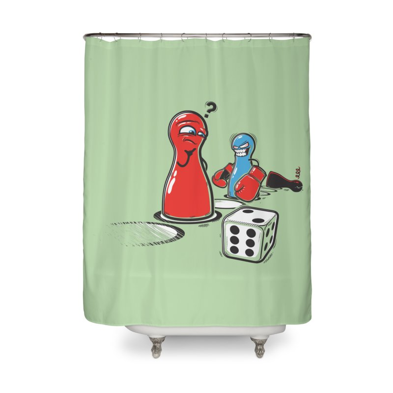 Sorry! Home Shower Curtain by Rax's Artist Shop