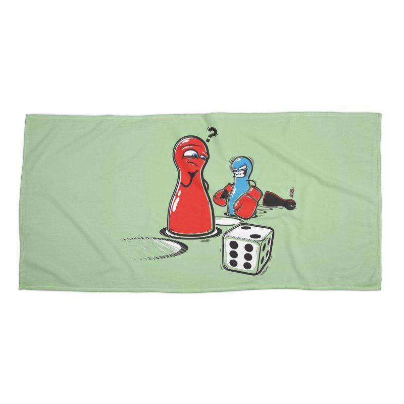 Sorry! Accessories Beach Towel by Rax's Artist Shop