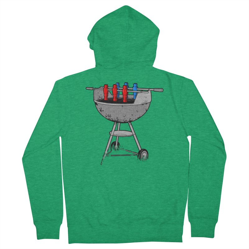 Grillball Men's Zip-Up Hoody by Rax's Artist Shop