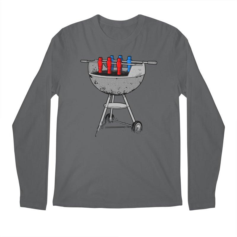 Grillball Men's Longsleeve T-Shirt by Rax's Artist Shop