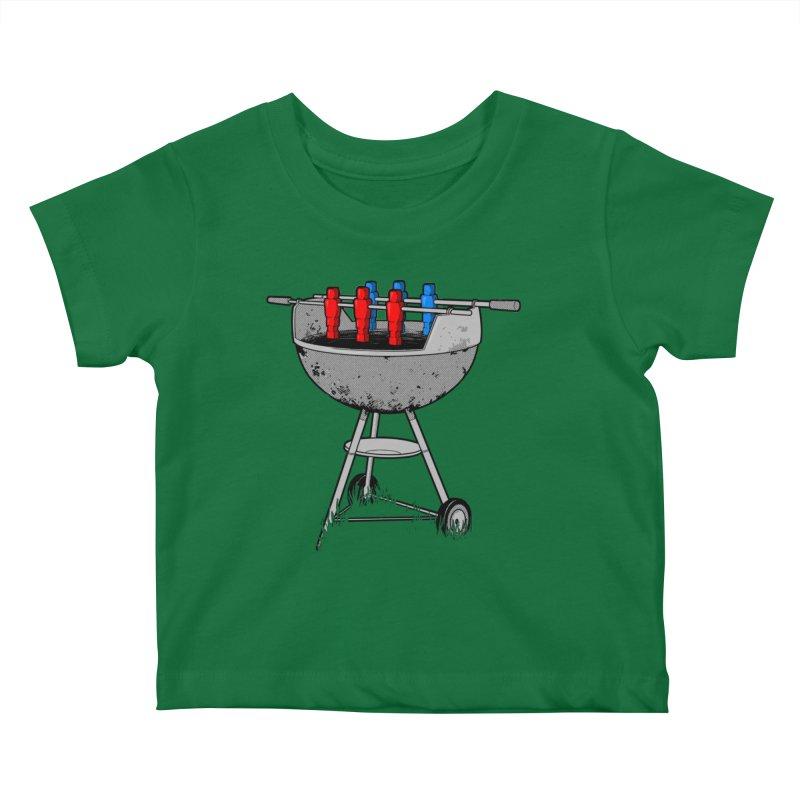 Grillball Kids Baby T-Shirt by Rax's Artist Shop