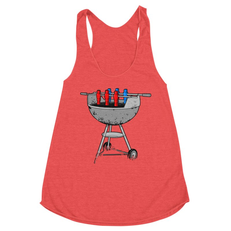 Grillball Women's Tank by Rax's Artist Shop