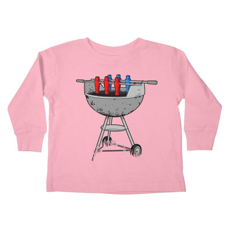 Grillball Kids Toddler Longsleeve T-Shirt by Rax's Artist Shop