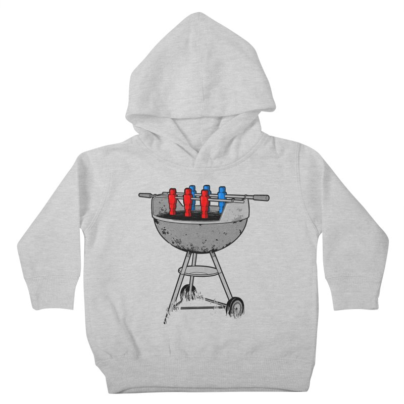 Grillball Kids Toddler Pullover Hoody by Rax's Artist Shop